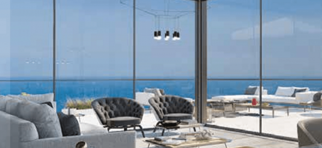 Вид на море в Тель Авиве